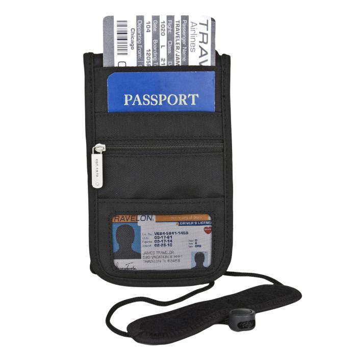 RFID Blocking Classic Deluxe Boarding Pouch