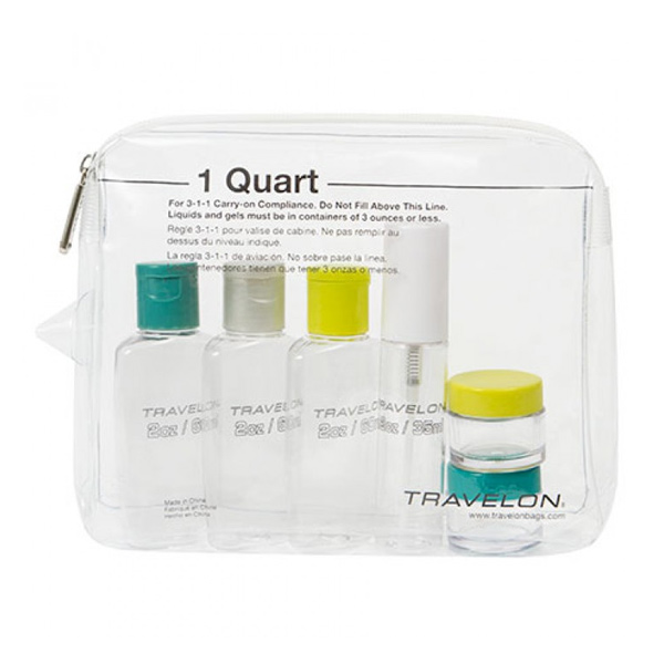 1 Quart Zip Top Bag with Bottles