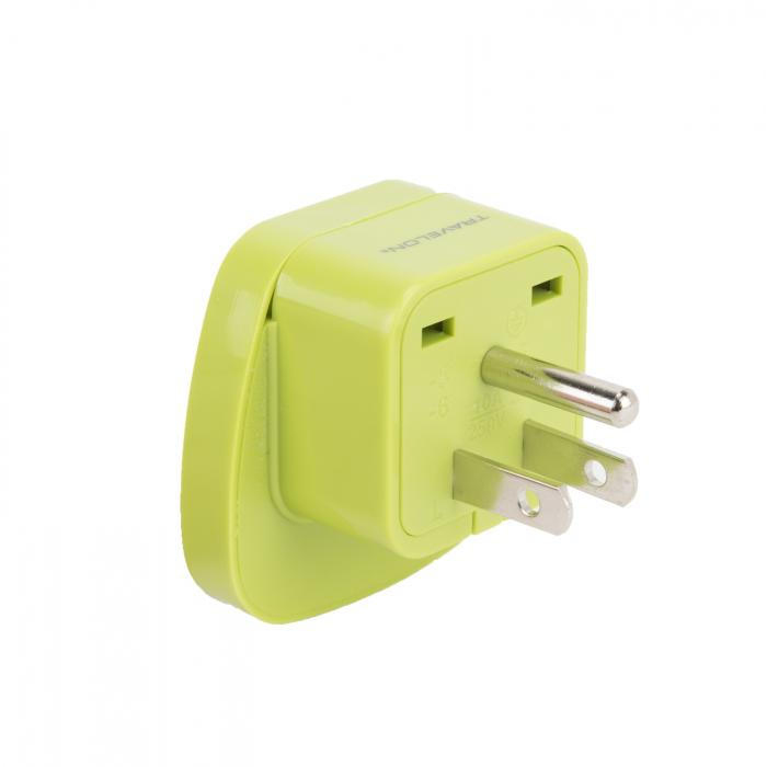 US GROUNDED ADAPTER PLUG
