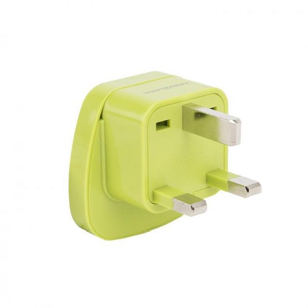 UK GROUNDED ADAPTER PLUG