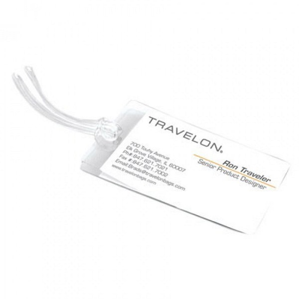 3 Self Laminating Luggage Tags