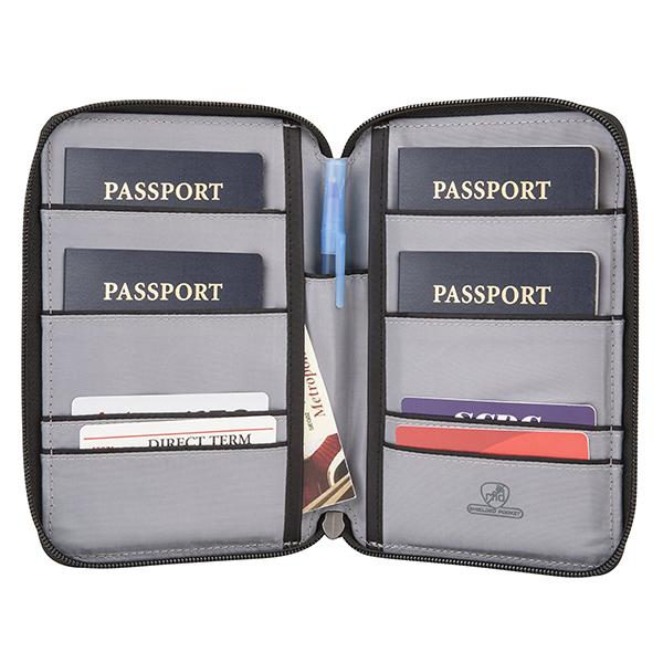 Safe ID Multi Passport Holder