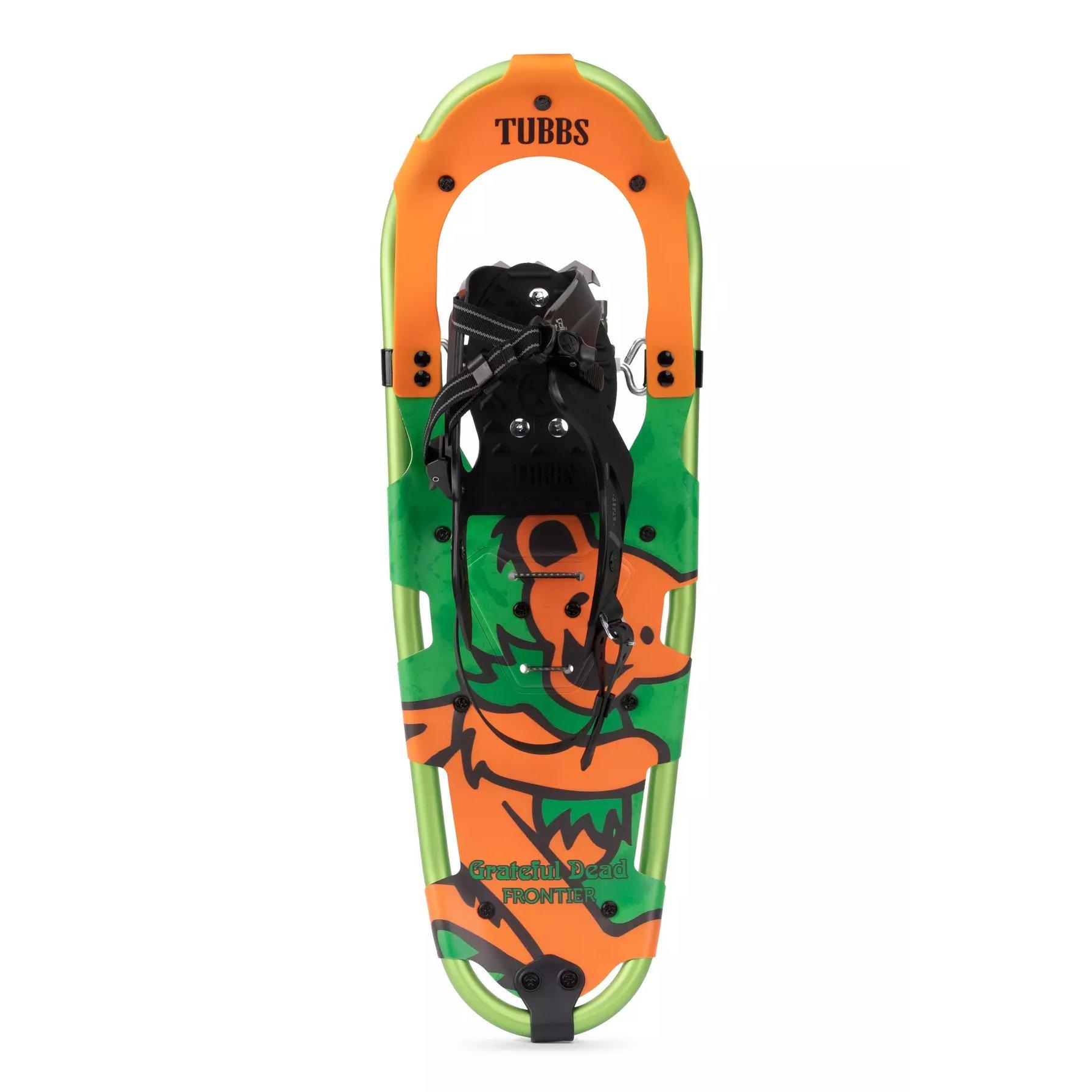 Grateful Dead Frontier Orange Bear 25 Snowshoes
