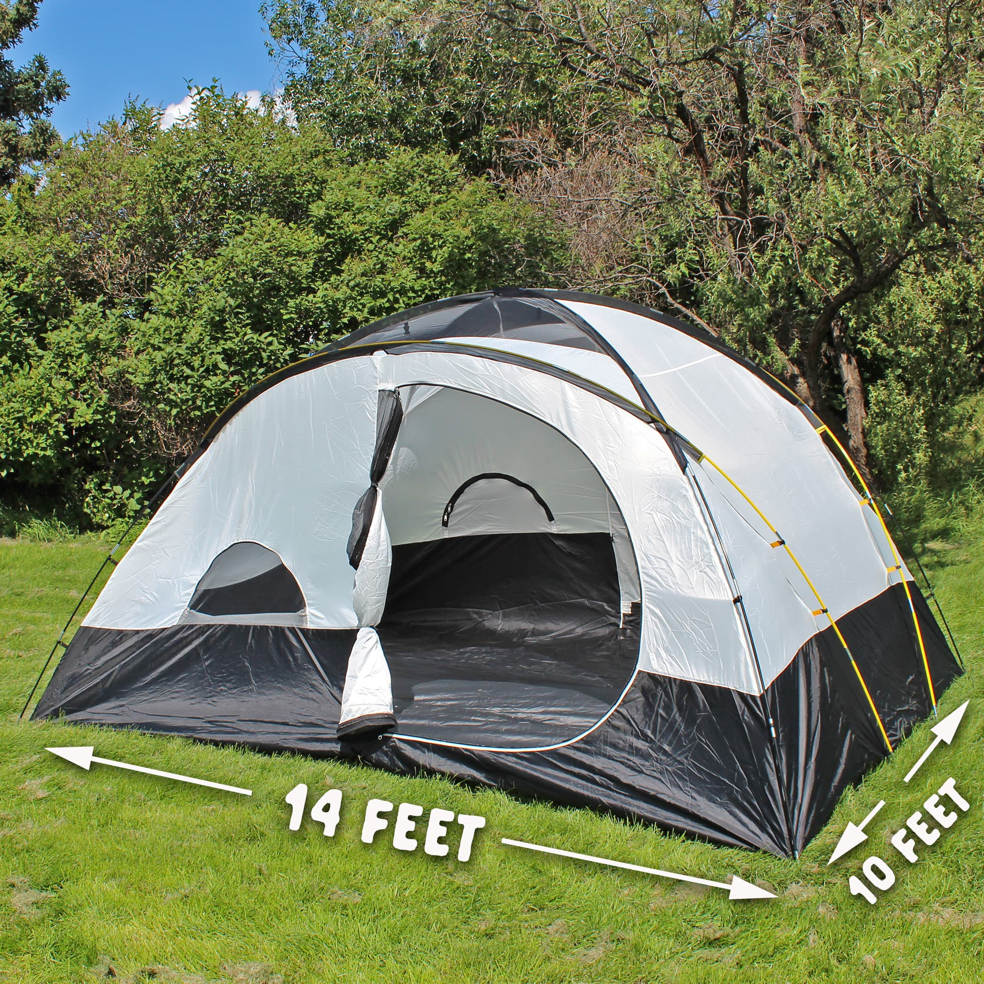 Grizzly 8 Tent w/ Footprint